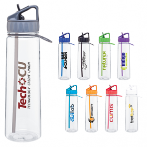 Custom Water Bottles - H2Go Angle Tritan Water Bottles | 30 oz