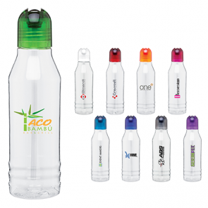 Custom Water Bottles - H2Go Tritan Flip Water Bottles | 20 oz