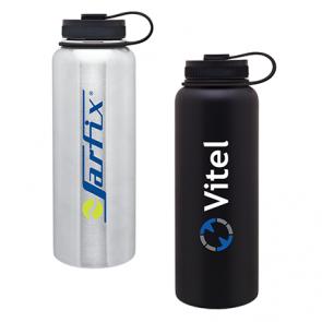 Custom Water Bottles H2Go 40 Oz Vacuum Insulated Titan