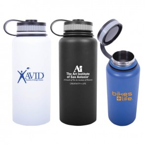 Personalized Water Bottles - 32 oz Hydro-Soul Vacuum Insulated Water Bottle