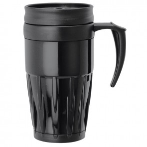 Double Wall PP Mugs | 14 oz - Black