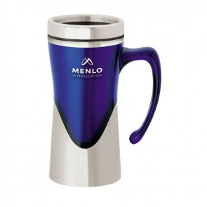 Acrylic / Stainless Steel Mugs | 14 oz - Blue