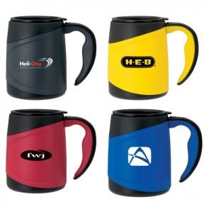 Promotional Mugs - Printed Microwavable Double Wall Mug | 15 oz