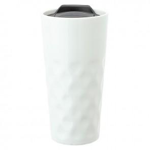 Ceramic Travel Tumblers | 15 oz - White