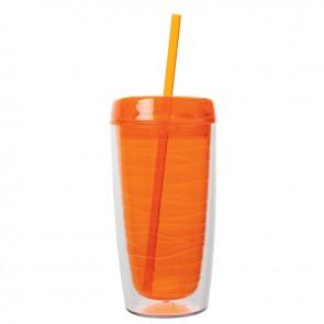 Hot / Cold AS Tumblers   16 oz - Orange