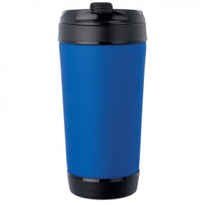 Perka Insulated Spill-Proof Mugs | 17 oz - Blue