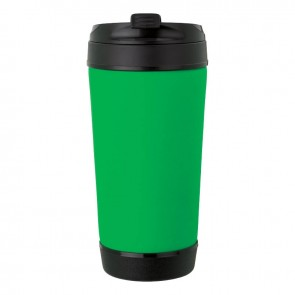Perka Insulated Spill-Proof Mugs | 17 oz - Green