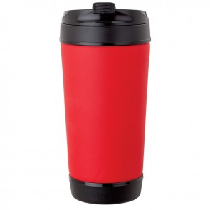 Perka Insulated Spill-Proof Mugs | 17 oz - Red
