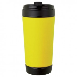 Perka Insulated Spill-Proof Mugs | 17 oz - Yellow