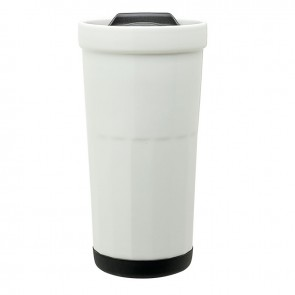 Ceramic Travel Tumblers | 16 oz - White