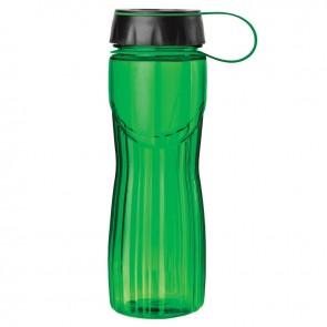 PETE Water Bottles   24 oz - Green