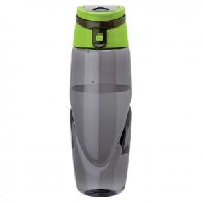Tritan Water Bottles   32 oz - Smoky Bottles with Green Spout