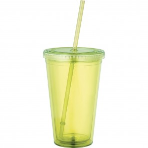 Sedici Tumblers | 16 oz - Yellow