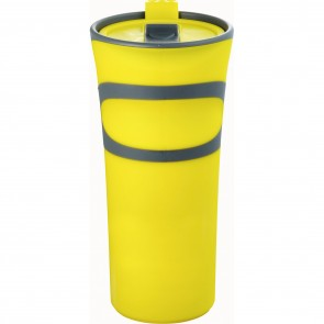 Groovy Double-Wall Tumblers | 18 oz - Yellow