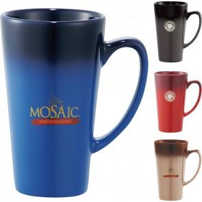 Promotional Mugs - Cafe Tall Latte Ceramic Mug | 14 oz