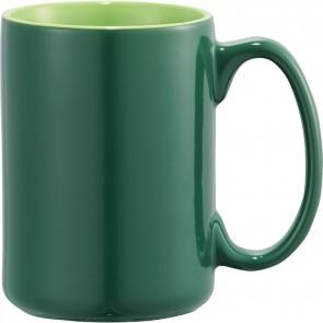 Jumbo Ceramic Mugs   14 oz - Green