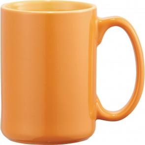 Jumbo Ceramic Mugs   14 oz - Orange
