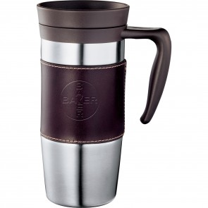 Promotional Mugs - Cutter & Buck American Classic Leather Mug | 14 oz