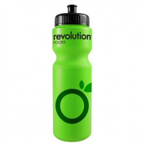 The Journey Bottles - 28 oz. Bike Bottles Colors-Neon-Green