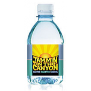 Personalized Water Bottles - Custom Label Bottled Water | 8 fl oz