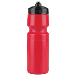 The Mighty Shot - 24. oz. Bike Bottles (Valve Lid)-Red