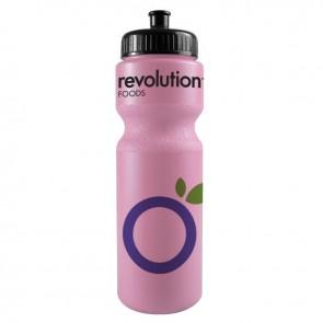 The Journey Bottles - 28 oz. Bike Bottles Colors-Hot-Pink