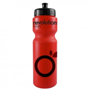 The Journey Bottles - 28 oz. Bike Bottles Colors-Red