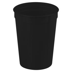 Cups-On-The-Go - 12 oz. Stadium Cup-Black
