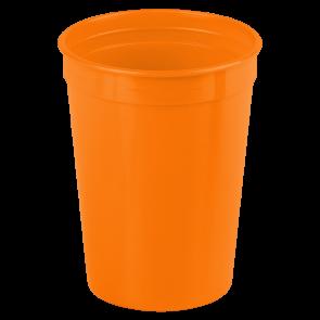 Cups-On-The-Go - 12 oz. Stadium Cup-Orange