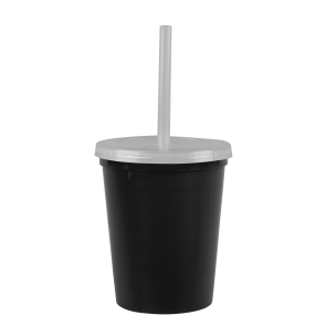 Cups-On-The-Go -16 oz. Stadium Cup-Black