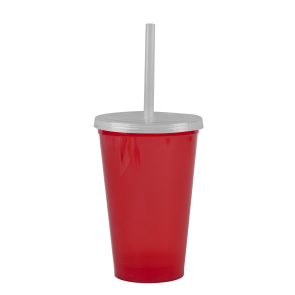 Cups-On-The-Go -20 oz. Stadium Cup-Red