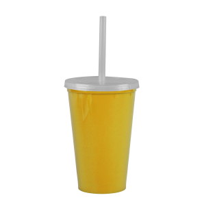 Cups-On-The-Go -20 oz. Stadium Cup-Yellow