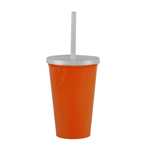 Cups-On-The-Go -20 oz. Stadium Cup-Orange