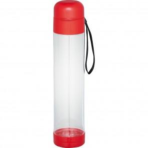 Helsinki Tritan Sports Bottles | 27 oz - Clear with Red Lid