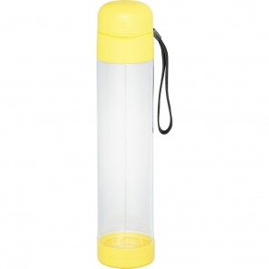 Helsinki Tritan Sports Bottles | 27 oz - Clear with Yellow Lid