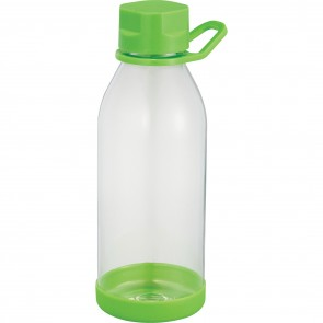 Piper Tritan Sports Bottles | 24 oz - Clear with Lime Green Lid