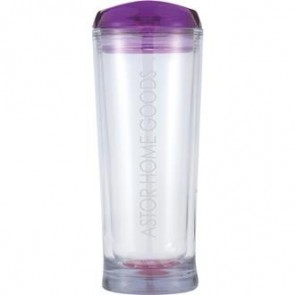 Denali | 20 oz - Clear with Purple Lid