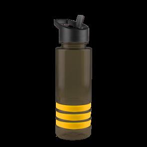 Sergeant -24 oz. Tritan Stripe -Flip Straw Lid-Black