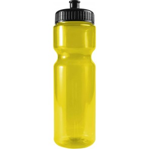 The Olympian - 28 oz. Transparent Color Bottles-Transparent--Yellow