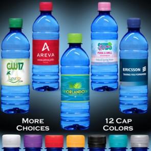 Custom Labeled Water | 16.9 fl oz. - Blue