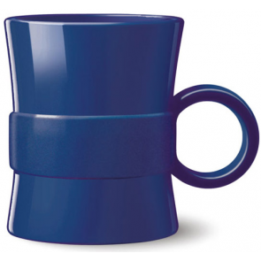 14 oz Loop BPA Free Plastic Mugs - Blue