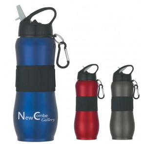Stainless Steel Sport Grip Bottles | 28 oz