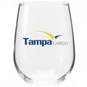 Vina Stemless White Wine Glass | 17 oz