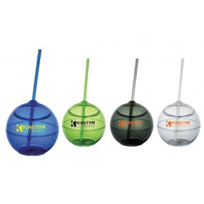 Fiesta Ball With Straw | 20 oz