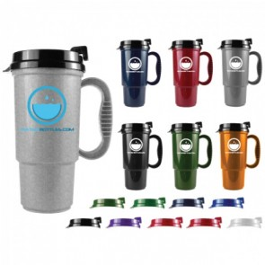 The Commuter - 16 oz. Auto Mug-Metallic Colors