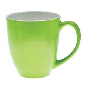 Jamocha Mugs   16 oz - Lime Green