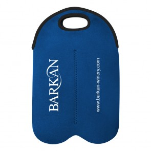 Personalized Water Bottles - Dual Neoprene Wine Bottle Holder