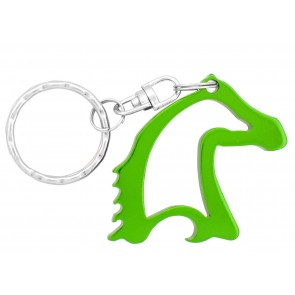 Horse Head Bottle Opener-Green
