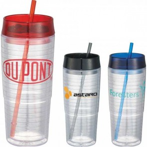 Hot and Cold Swirl Double-Wall Tumbler | 20 oz
