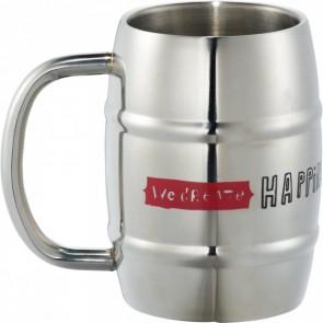 Growl Stainless Barrel Mug | 14 oz